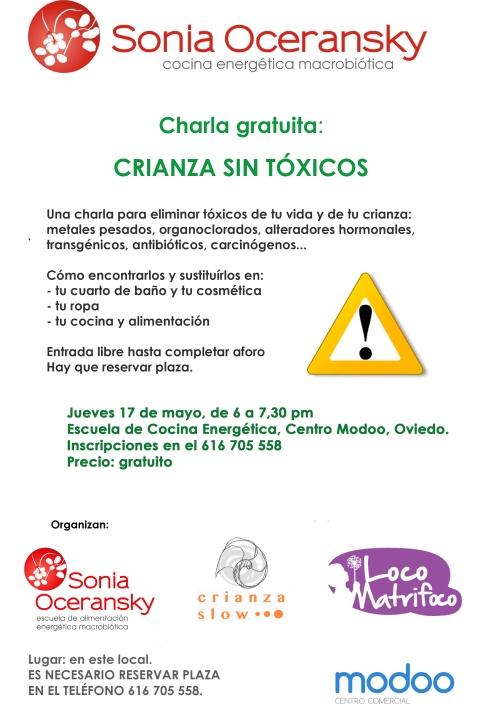 Jueves 17 mayo: Charla en Oviedo