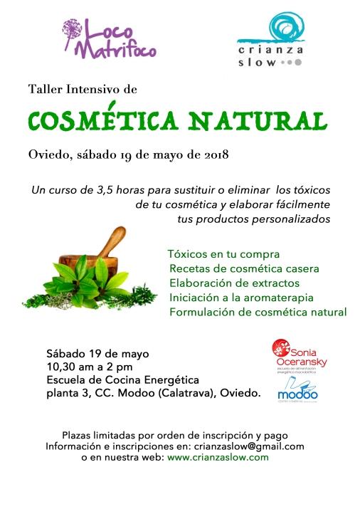 Sábado 19 mayo: Taller Intensivo en Oviedo